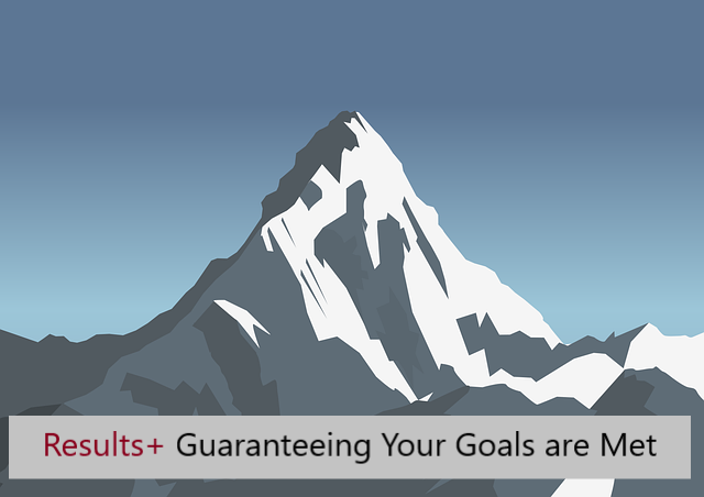 Results+ Guaranteeing Your Goals are Met